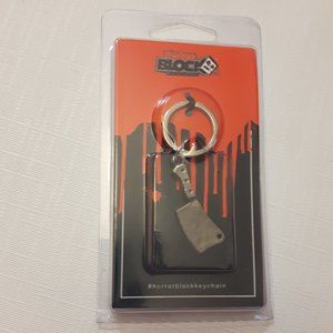 Horror Block  Keychain MEAT CLEVER NEW